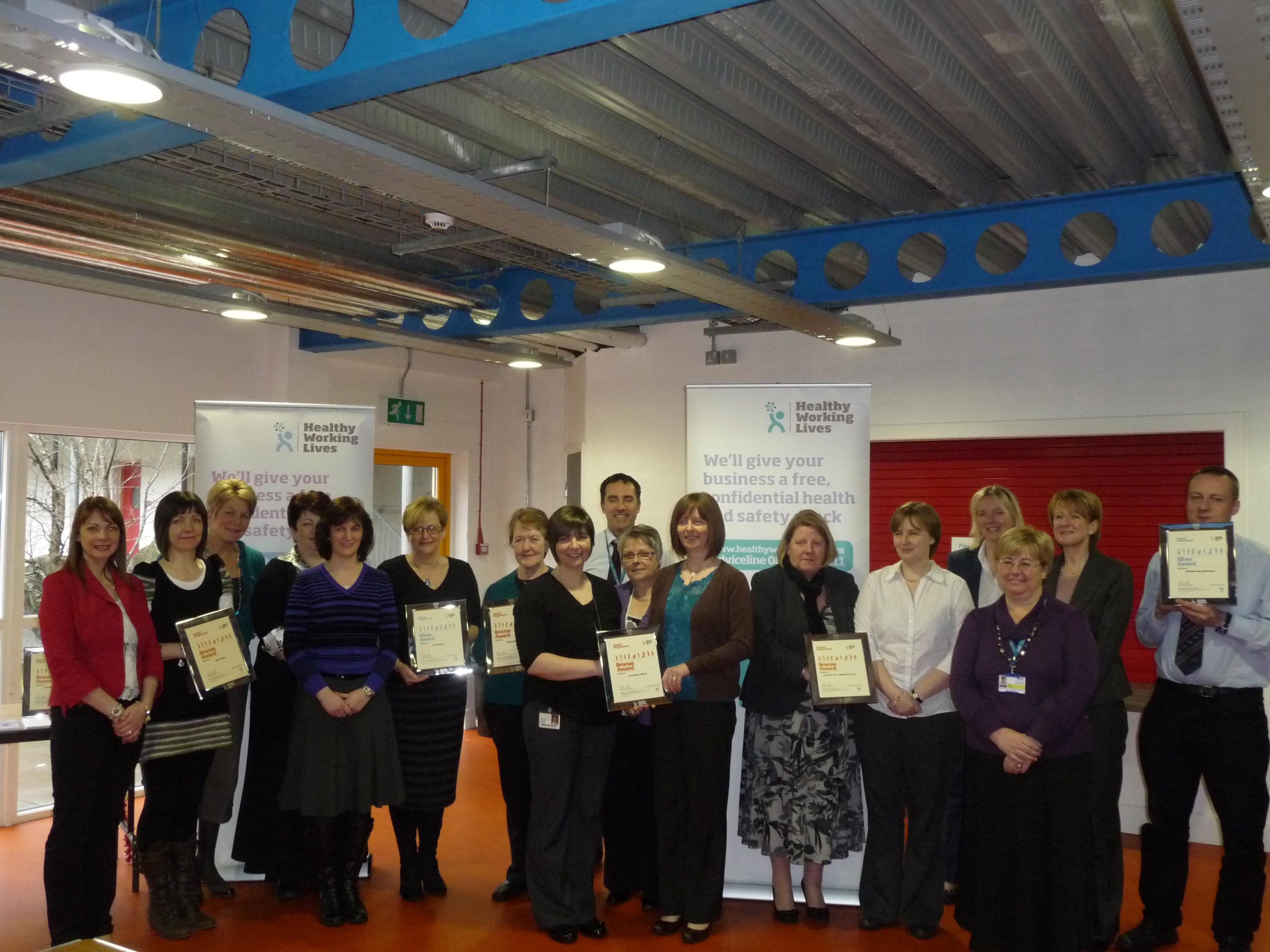 HWL Award Feb 2012