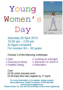 Young Women's Day Uists