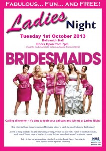 Ladies Night - Uists poster