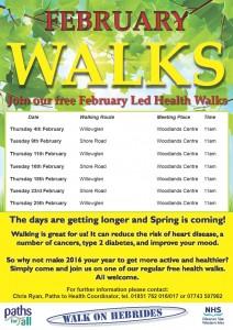 February Walks